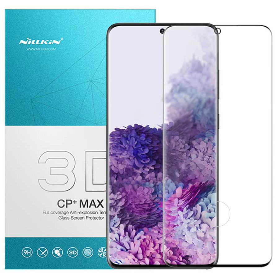 Защитное стекло Nillkin (CP+ max 3D) для Samsung Galaxy S20+ (Черный)